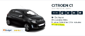 Budget Milan Rental Car Age Requirements