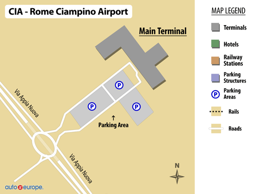 car rental ciampino airport save 30 on rome rental cars. Black Bedroom Furniture Sets. Home Design Ideas