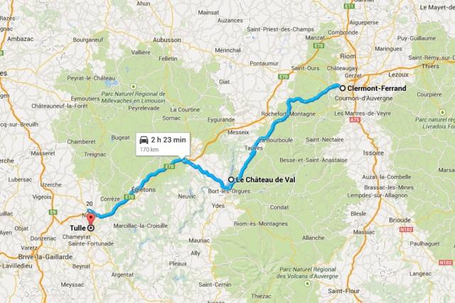 Dordogne River Valley Road Trip ClemontFerrand to Bordeaux