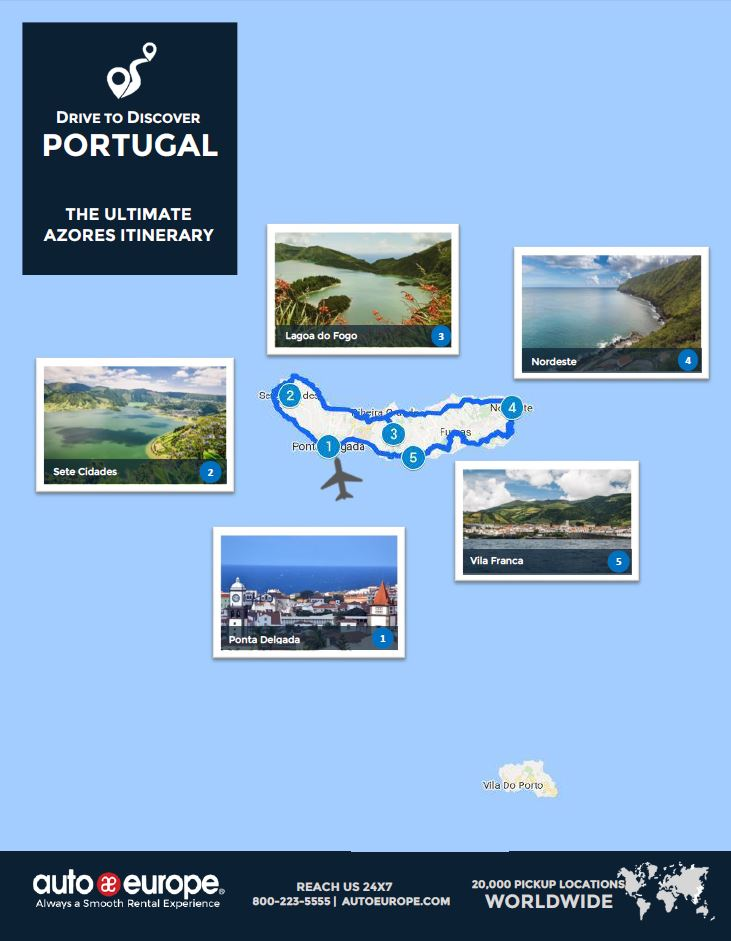 the ultimate azores itinerary. Black Bedroom Furniture Sets. Home Design Ideas