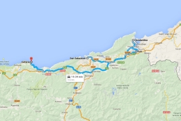Basque Country Road Trip Planner Map