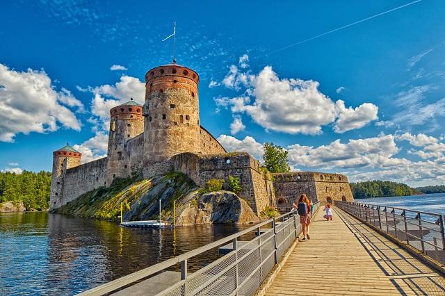 Olavinlinna Castle, Finland