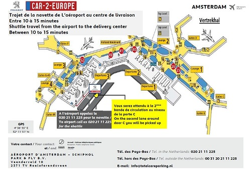 Short Term Lease at Amsterdam Airport