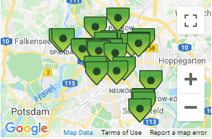 Berlin Car Rental Pick-up Locations
