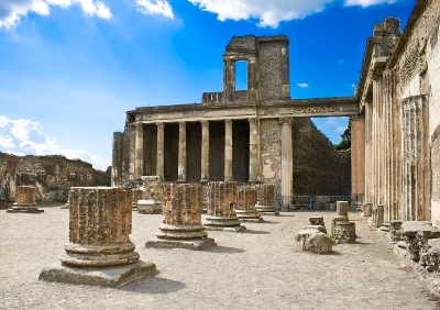 Italy Road Trip Planner Pompeii Ruins