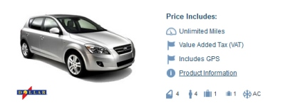 Dollar Car Rental in Brussels