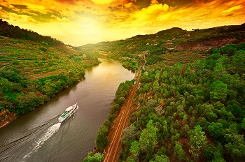 River cruise along the Douro River