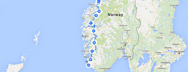 Ideas Map Of Atlantic Highway Norway On Emergingartspdxcom - Norway highway map