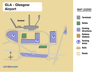 Glasgow International Airport Map