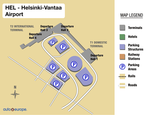 Rental Car Places >> Car Rental Vantaa Airport Save On Helsinki Airport Rentals