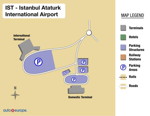 Hotels Near Istanbul Ataturk International Airport