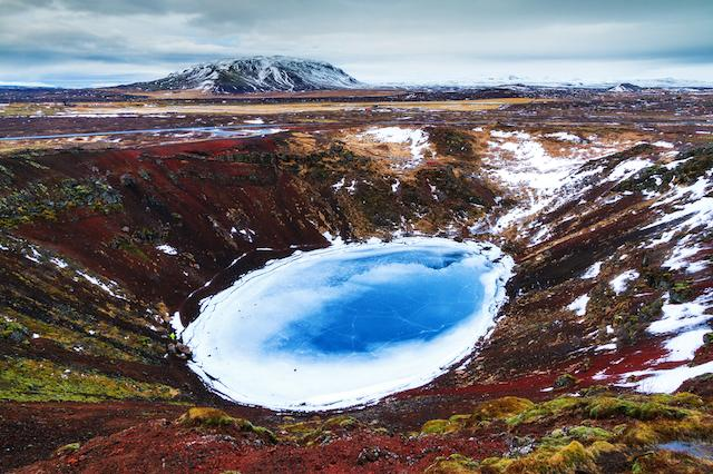 Kerid Crater Lake