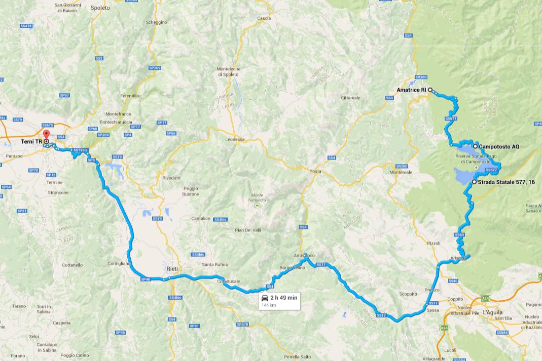 Lazio Italy Sabina Road Trip Planner Rome to Terni Road Trip