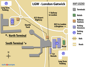 Car Rental Gatwick Airport Save 30 On London Rental Cars Now