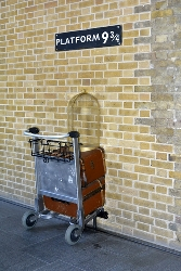 London King's Cross Platform Nine and Three-Quarters