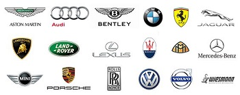 Auto Europe Luxury Car Rental Brands