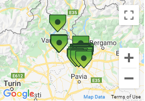 Rental Office Pick-up Locations in Milan