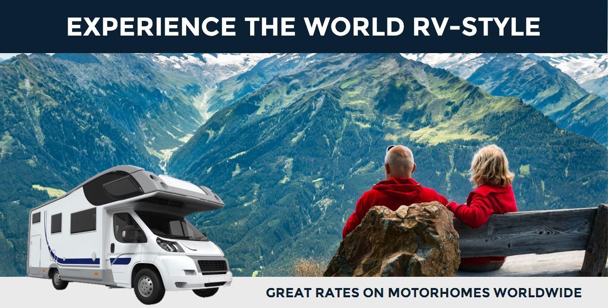 RV Rental Europe: Motorhome Rentals in Europe & Worldwide