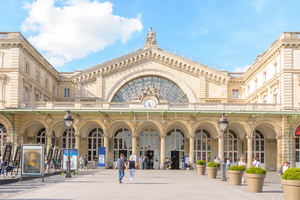 Europcar Car Rentals at Paris Gare De L'Est