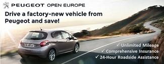 Peugeot Leasing In Europe Peugeot Open Europe Fleet Information