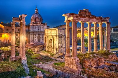 Attractions in Rome Ancient Rome and Colosseum Half-Day Walking Tour