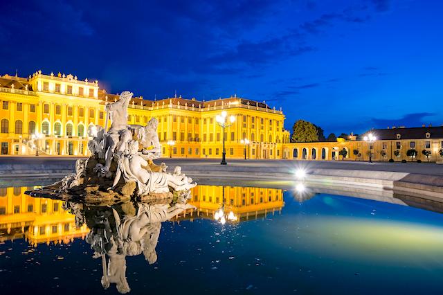 Österreichs Schloss Schönbrunn