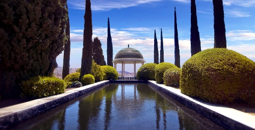 Things to See in Malaga Spain Conception Botanical Garden