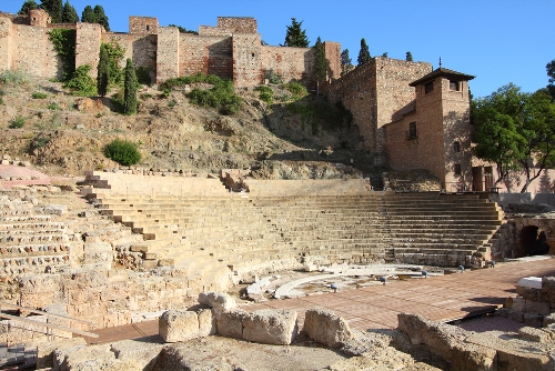 Things to See in Malaga Spain Roman Theater