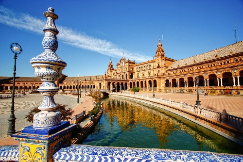 Things to See in Sevilla Spain Plaza de Espana