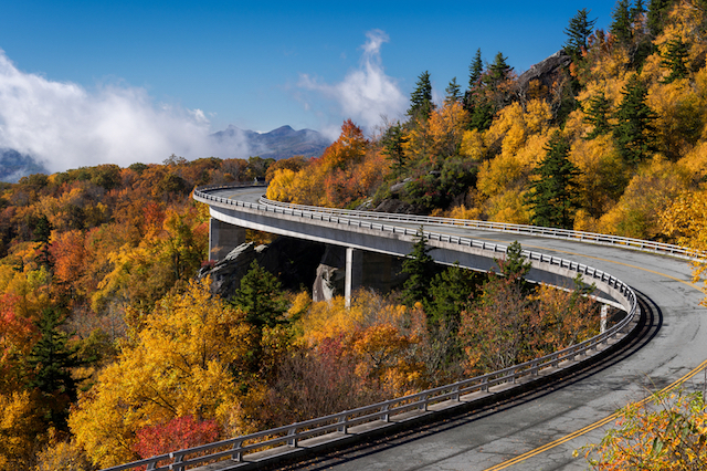 Blue Ridge Parkway Scenic Drive in the United States