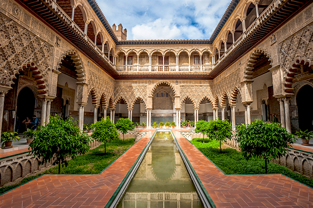 exploring moorish architecture in andalusia spain
