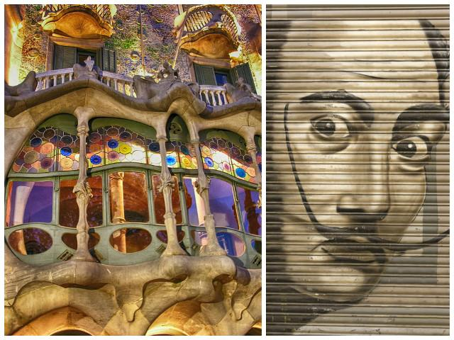 Shaped by some of the most creative minds of all time, strong influences of Gaudi and Dali can be felt throughout Barcelona, a trait that is unique to the city.