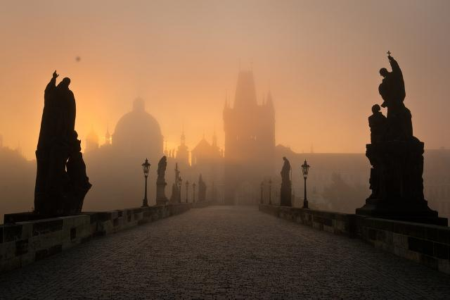 Charles Bridge Prague, car rental Prague, rent a car in Prague, literary history Prague