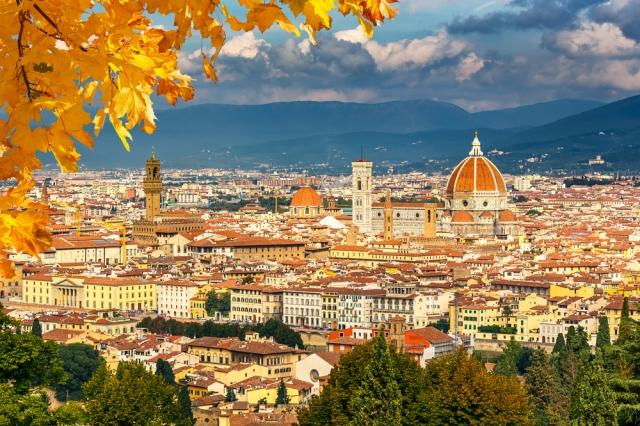 Fall in Florence, Italy