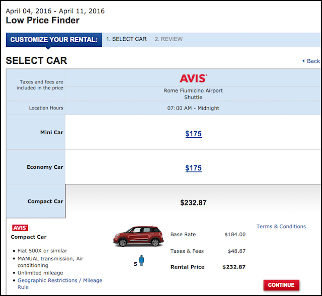 Costco car rental coupon codes