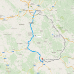Florence to Siena Day Trip Route