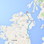 Dublin to Giants Causeway, Northern Ireland