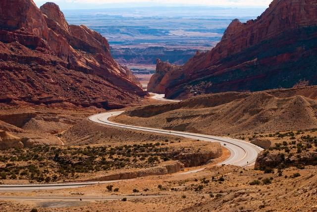 Interstate 70, Spotted Wolf Canyon Utah