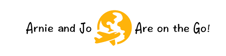 Arnie and Jo Are on the Go logo