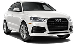 Audi Q3 Luxury SUV Rental