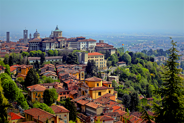Hotels In Bergamo Italy Old Town