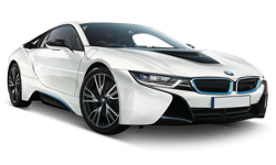 BMW i8 Luxury Car Rental