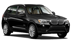 BMW X3 Luxury SUV Rental