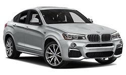 BMW X4 Luxury SUV Rental