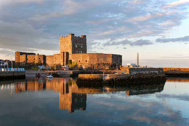 Carrickfergus Castle, Northern Ireland