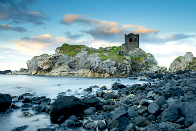 Kinbane Castle, Northern Ireland
