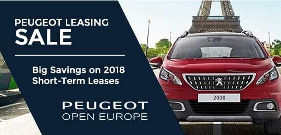 Peugeot Leasing In Europe Peugeot Open Europe Fleet Information