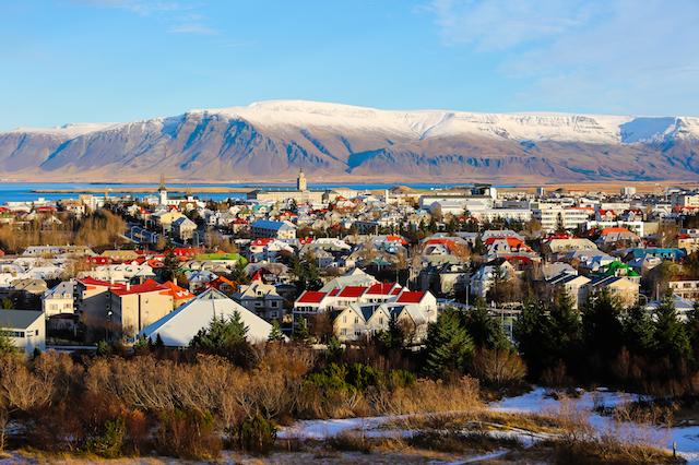 العاصمة الأيسلندية