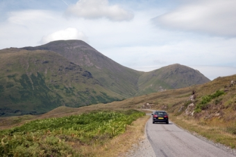 Advice for Driving a Rental Car in Scotland