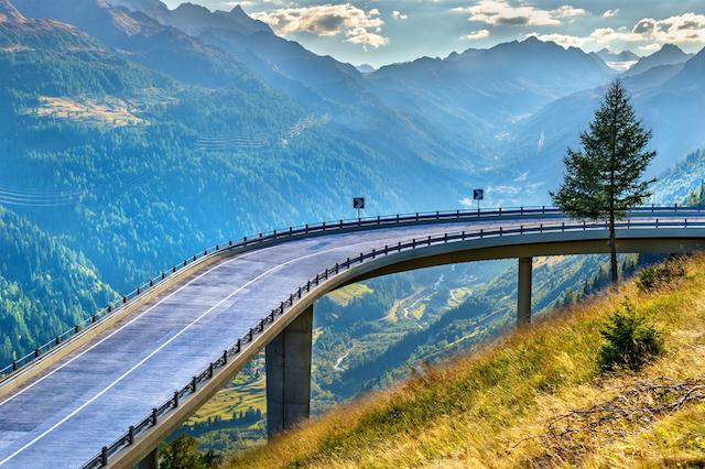 the 5 best alpine drives in switzerland alpine road tours. Black Bedroom Furniture Sets. Home Design Ideas